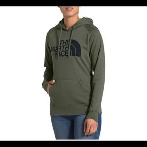 The north face hoodie large